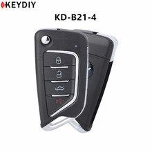 1/5/10 قطعة ، KEYDIY KD البسيطة B21 4 4 أزرار فارغة مفتاح السيارة عن بعد ل KD900/KD X2 مفتاح مبرمج B سلسلة التحكم عن بعد