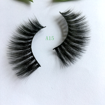 DLM 3D Multi-layered Faux Mink Eyelashes Fluffy Volume Lashes Natural Look 3D Layered Effect Reusable 100% Handmade Cruelty-Free image