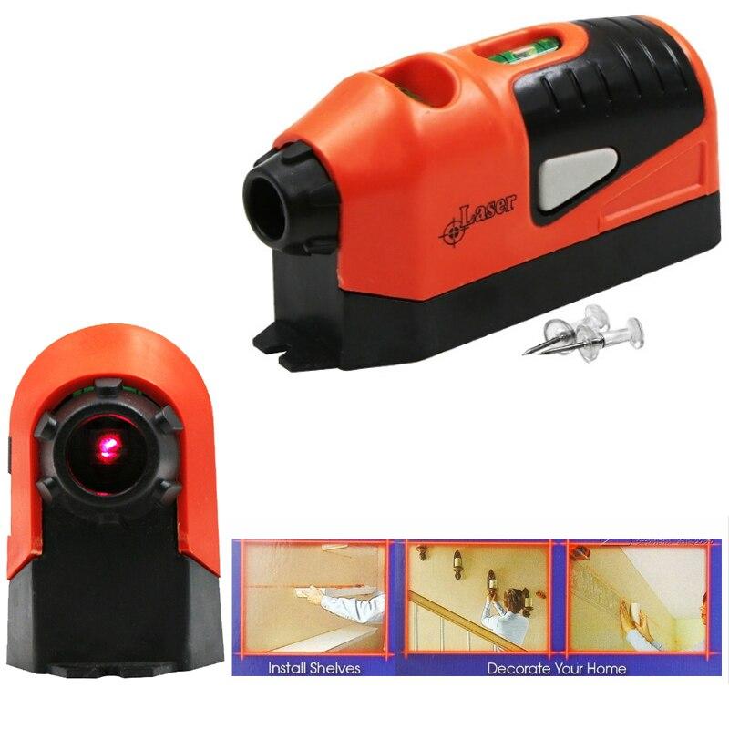 Hot Sale Mini Vertical Spirit Level Tool Laser Level LASER STRAIGHT THE Laser Guided Level Line Measurement Gauge Tool