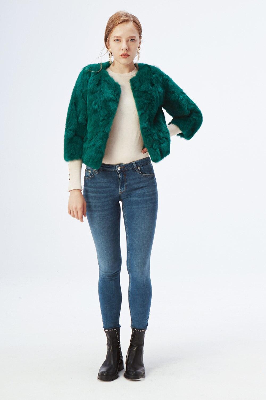 Hc419ee306b314eb489265dbfb3392b9cj ETHEL ANDERSON 100% Real Rabbit Fur Women's Real Rabbit Fur Coat/Jacket Outwear Beauty Purple Color XXXL Size Coat