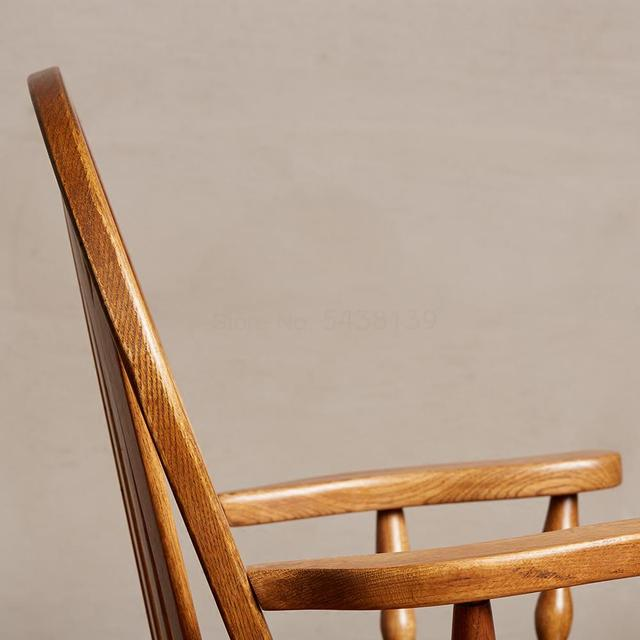 Windsor Solid Wood Dining Chair  4