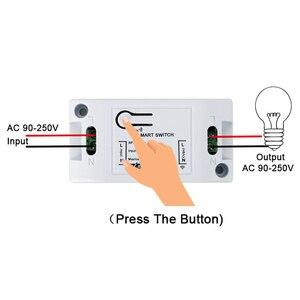 Image 2 - Rubrum 433 Mhz العالمي للتحكم عن بعد التبديل التيار المتناوب 110 فولت 220 فولت 1CH التتابع وحدة الاستقبال RF 433 Mhz التحكم عن بعد ل بوابة جراج