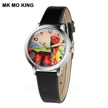 new Children Watches Dinosaur Colorful Light Source Boys