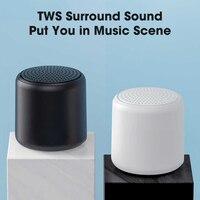 Bonito parlante con Bluetooth, columna portátil de sonido HiFi, Mini altavoces USB inalámbricos impermeables, barra de sonido Rosa Subwoofer, caixa de som