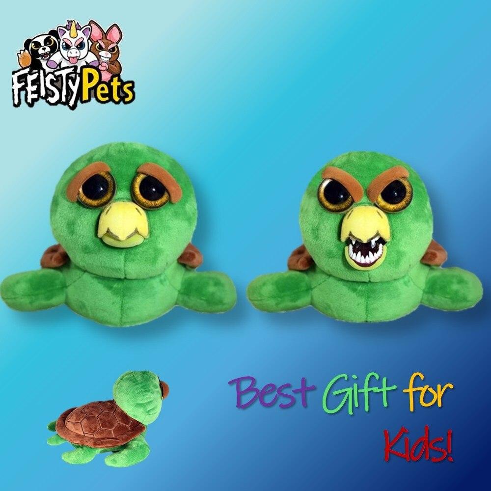 Игрушки для домашних животных Feisty, мягкие плюшевые злые животные, Очаровательная кукла в подарок, черепаха