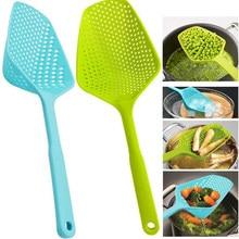 Utensilios de cocina de nailon para colador, cuchara para agua, herramientas portátiles de cocina casera