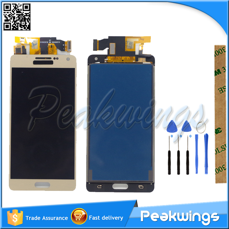 TFT 100% Tested High Quality LCD Display For Samsung Galaxy A5 2015 A500 A50 LCD Display  with Touch Screen Assembly