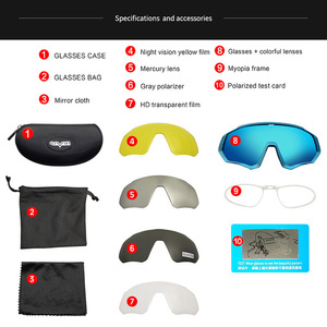Image 2 - Gepolariseerde TR90 Frame Fietsen Eyewear UV400 Fietsen Bril Racefiets Zonnebril Mtb Mountain Fiets Goggles Gafas De Ciclismo