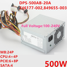 PSU Power-Supply PS-8501-2 500W New for HP Dps-500ab-20a/746177-002/849655-003/..