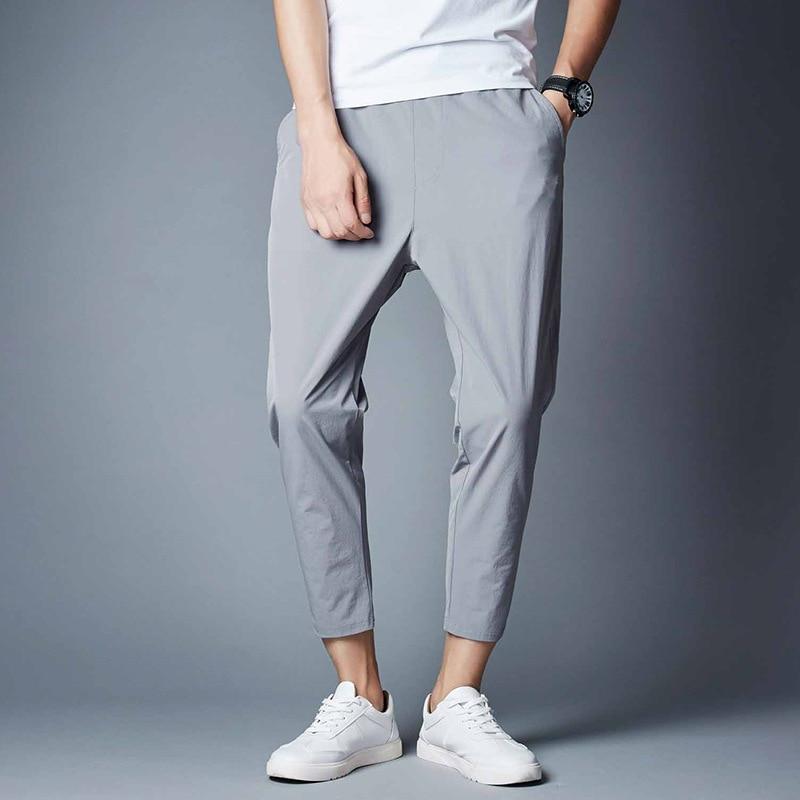 Hot Summer Men's Loose Casual Pants Sweatpants Harem Pants Men Solid Color Slim Casual Pants For Men Trousers 4XL 5XL