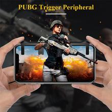 Mobile Phone Gaming Trigger Peripheral Shooting Take Aim FIRE Button Keypad for PUBG Knives Out for android cellphone