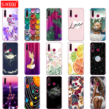 Case op Honor 20 Case silicon Back Cover Phone Case Voor Huawei Honor 20 Pro Lite Honor20 YAL L21 YAL L41 Luxe cartoon
