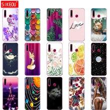 Fall auf Ehre 20 Fall silizium Zurück Abdeckung Telefon Fall Für Huawei Ehre 20 Pro Lite Honor20 YAL L21 YAL L41 Luxus cartoon