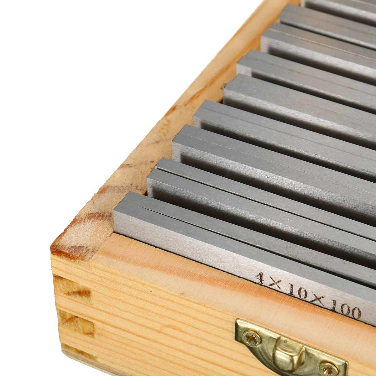 Tools : 18 Pcs Box  High-precision Manufactured Parallel Pad Gauge Block CNC Milling Pads Set 100mm x  10-42mm  Alloy Steel Good Quality