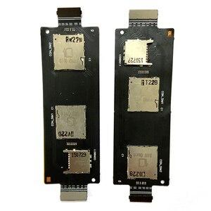 Для ASUS ZenFone 2 5,5 дюйма ZE551ML ZE550ML держатель для SIM-карты разъем гибкий кабель