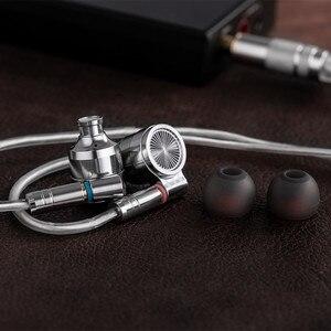Image 5 - Tinhifi T4 耳イヤフォン 10 ミリメートル CNT ミリメートルダイナミックドライバハイファイ低音イヤホン金属 3.5 ミリメートルイヤホン MMCX ケーブル錫 P1 T3 T2 プロ BA5