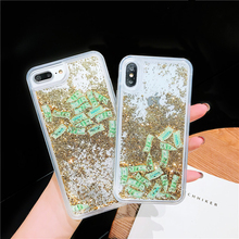 Flash liquid quicksand mobile phone shell money for iPhone 6 6s 7 8 Plus X XS XR MAX FUNNDA