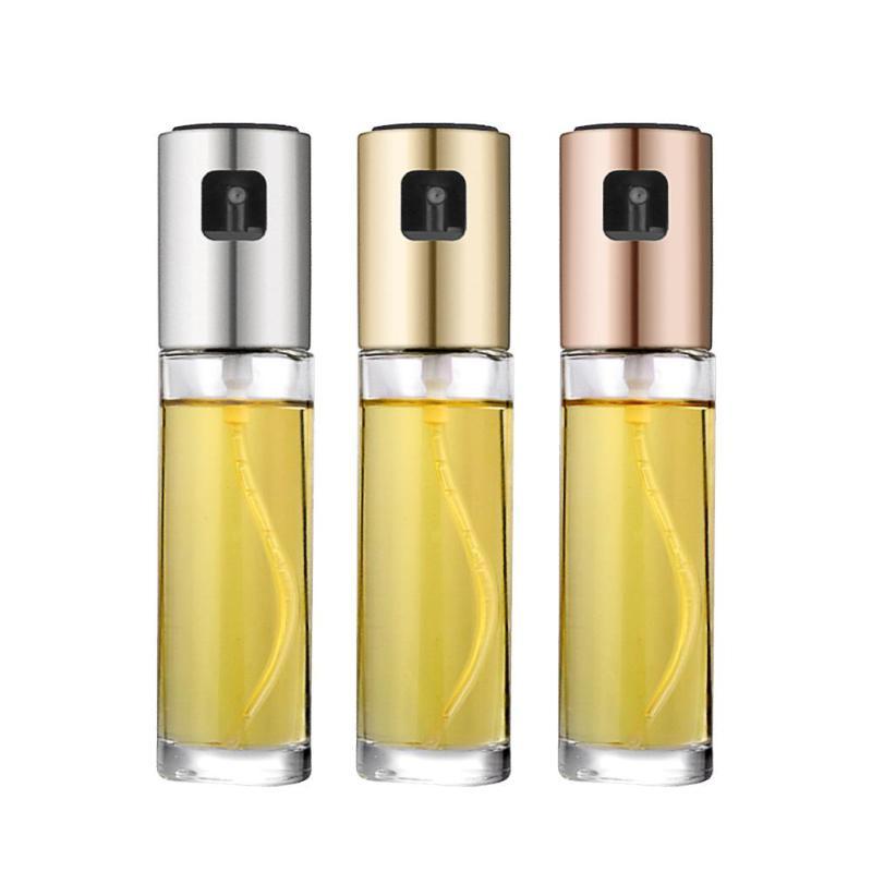 Spray-Oil Bottle-Oil Vinegar-Sprayer Salad Kitchen-Dispenser BBQ Cooking Tools Portable