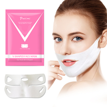 Putimi V Shape Lifting Face Mask 4D Double Gel Hanging Ear Hydrogel Slim Chin Check Neck Firming