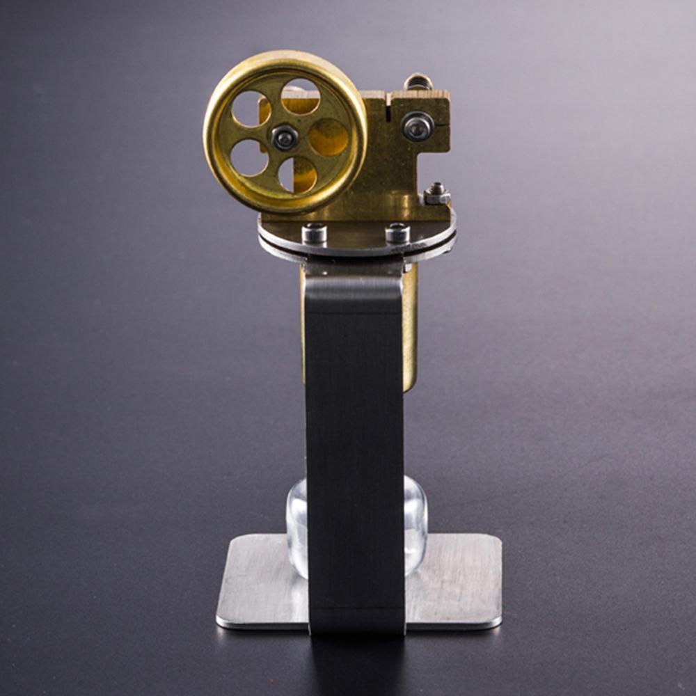 Alle metalen Horizontale Eencilinder DIY Stoommachine Stuurpen Model Set Vroege Building Kits Leren Model Speelgoed Voor Kinderen - 4