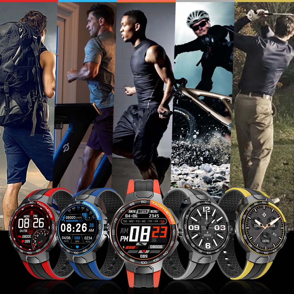 Smart Watch Men Women IP68 Waterproof Bluetooth 5 0 24 Exercise Modes Smartwatch E1 5 Heart Smart Watch Men Women IP68 Waterproof Bluetooth 5.0 24 Exercise Modes Smartwatch E1-5 Heart Rate Monitoring for Android Iosr A