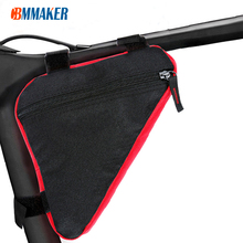 Frame-Holder Pouch Bicycle-Bags Front-Tube-Frame Bike Phone Triangle Waterproof Cbmmaker