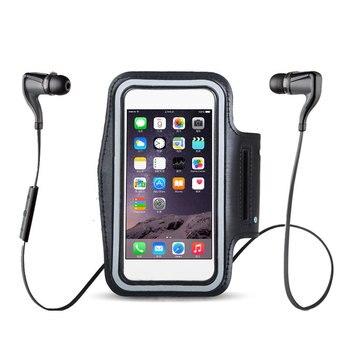 BLACK Waterproof Gym Sports Running Armband for Iphone 11 Pro Max Xs Max XR X 8 4s 5s 5c 6 6s 7 7s Plus Arm Band Phone Bag Case 5