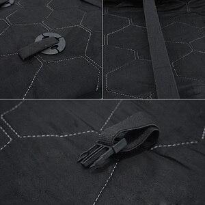 Image 5 - Futrzane peleryny na siedzeniu samochodu australijskiego 100% futra z owczej skóry Mouton premium pokrycie siedzenia samochodu szary dla samochodu lada granta