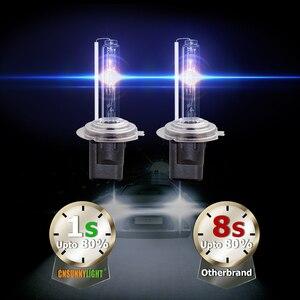 Image 2 - CNSUNNYLIGHT 1s Veloce Luminoso 55W HID Faro Allo Xeno H7 H1 H3 H11 H8 HB3 HB4 9005 9006 881 h27 4300K 6000K 8000K Lampada Della Nebbia