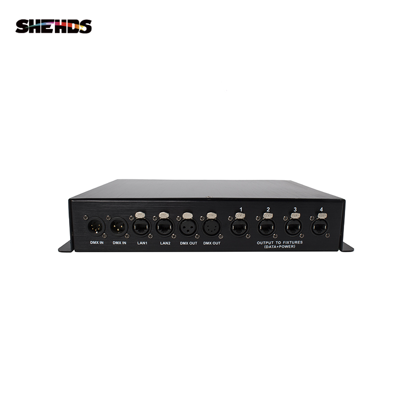 SHEHDS Pixel Lighting Decoder Stage Lighting Decoding Connection With Light Console/Network Cable Best For Pixel Lighting