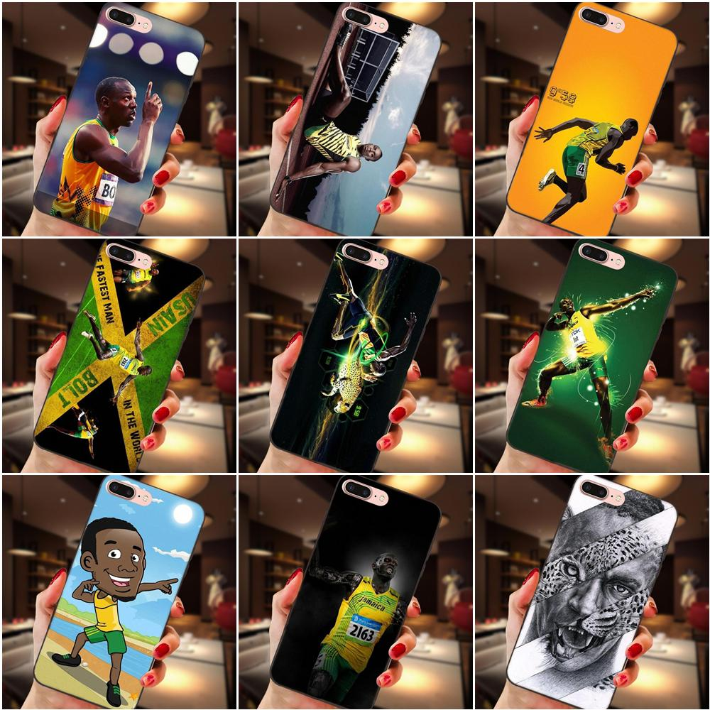 2019 Sports Star Usain Bolt Tpu Personalized Pattern For Samsung Galaxy A3 A5 A6 A6s A7 A8 A9 Star Plus 2016 2017 2018 Half Wrapped Cases Aliexpress