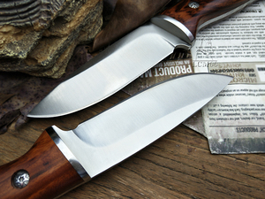 Image 4 - LCM66 الصيد سكين مستقيم السكاكين التكتيكية ، رئيس الصلب + مقبض خشب متين سكينة سرفايفل ، أدوات التخييم الإنقاذ سكين