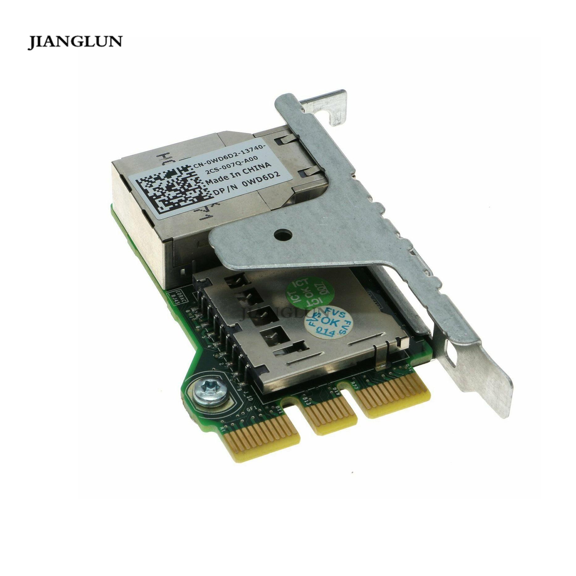 New Dell 2827M//0WD6D2 Remote Access Card iDRAC7 Express R320 R420 R520 T320 T420