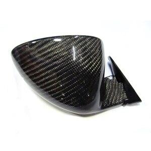 Image 4 - ユニバーサル F1 レース用カーボンファイバーサイドミラー BMW E90 E92 M3 F10 F30 E46 E60 1 ペア (R + L) オリジナルではない