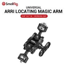 Smallrig câmera dupla dslr, câmera mágica com duas cabeças (arri localização de pinos e parafuso de 1/4