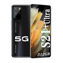 Galay S21 + Ultra Smartphone 7.2 Hdinch 12Gb + 512Gb 5800Mah Global Versie 4G/5G Android10.0 Mobiele Telefoon Celulares Mobiel
