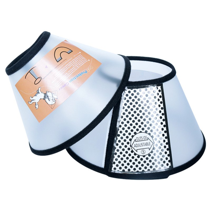 Anti Bite and Anti Lick Protective Cones for Dog Neck Cone for Recovery from Neck Wound or Surgery 2
