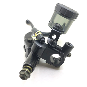 """Image 2 - For Harley Triumph Cafe Racer 1 Pair Universal 7/8"""" Motorcycle Brake Clutch Pump Master Cylinder Lever With Fluid Reservoir Cap"""