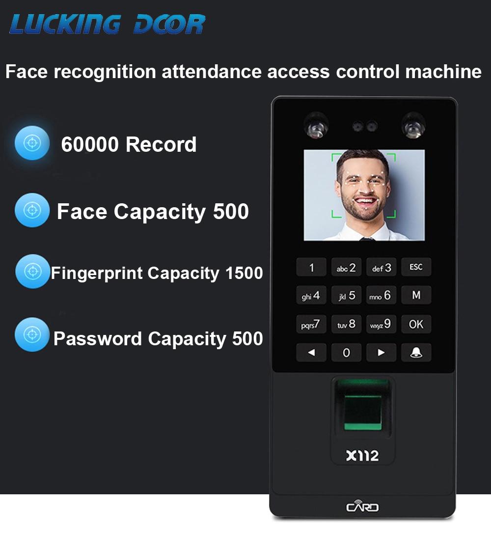 2.8inch  TCP/IP/USB Biometric Facial Door Access Control System  Fingerprint Face Time Attendance Machine  RFID Keypad Reader