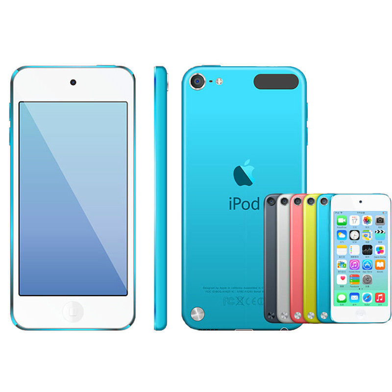 Refurbishment Apple Ipod Touch5 MP3/4 4.0 Inches Touch screen Built-in Speakers 16/32GB ROM Music Video Play with FM E-book image