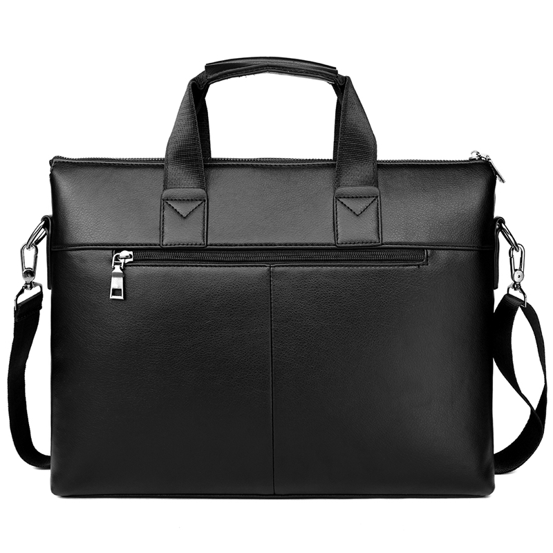 Image 3 - VICUNA POLO Top Sell Fashion Simple Dot Famous Brand Business Men  Briefcase Bag Leather Laptop Bag Casual Man Bag Shoulder bagsbag  snoopybag of white sugarbag filter