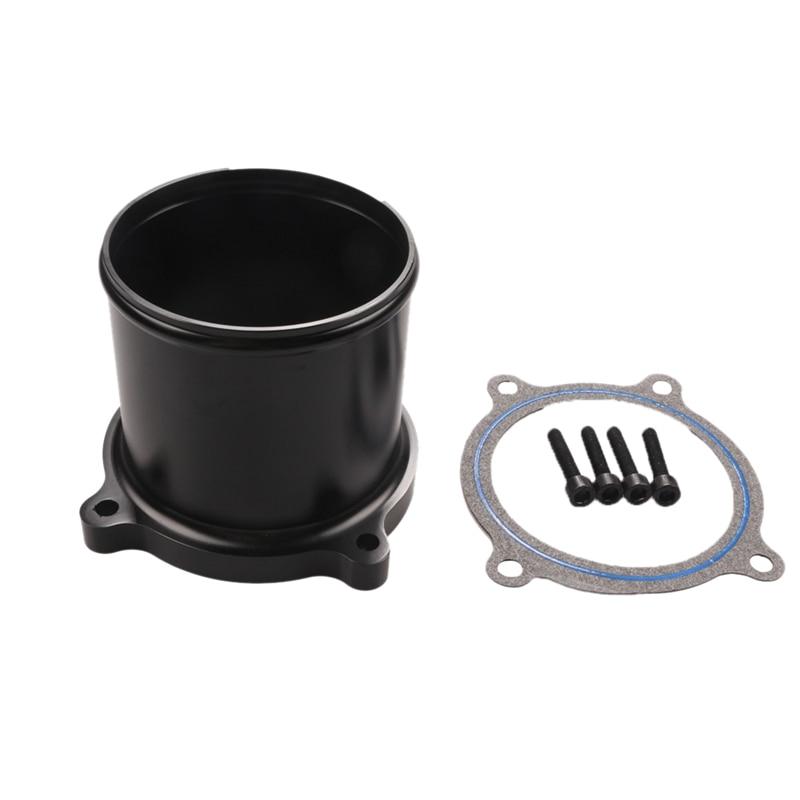 Throttle Valve Delete Kit For 07-17 Dodge Ram 6.7L L6 Cummins D-Iesel Turbo