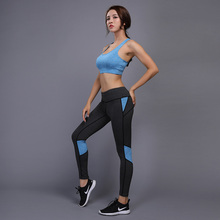 Female Sport Suit Women Fitness Clothing Set Yoga Sport Wear Gym Jogging Suits Sportswear Running Women Leggings Set sport suits women jumpsuit sporting yoga set suits for fitness jogging girl running tracksuits exercise tight suits wear 013