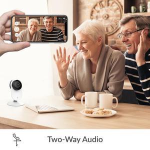 Image 3 - YI 4pc 홈 카메라, 야간 투시경 1080p Wi Fi IP 보안 감시 스마트 시스템, iOS, Android app의 베이비 모니터