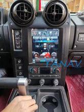 6G + 128G Android 10 Tesla Stil Vertikale Bildschirm Navigation Auto Multimedia Radio Player Für Hummer H2 2004-2009 gebaut in carplay