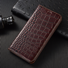 Samsung A10e A10s A20e A20s A30s Crocodile Grain Flip Leather Phone Case For Samsung A40 A41 A50 A51 A60 A70s A71 A80 A90 5G