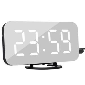Alarm-Clock Snooze-Display Night-Table Desktop Time Multifunction Digital LCD Despertador