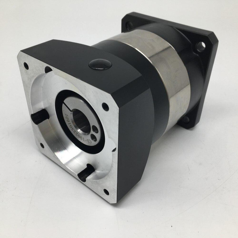 40:1 Planetary Reducer Gearbox  Reducer   Speed Ratio 40 Flange 90mm 14MM Input Shaft 3500rpm  for Nema34 86mm Stepper Motor CNC