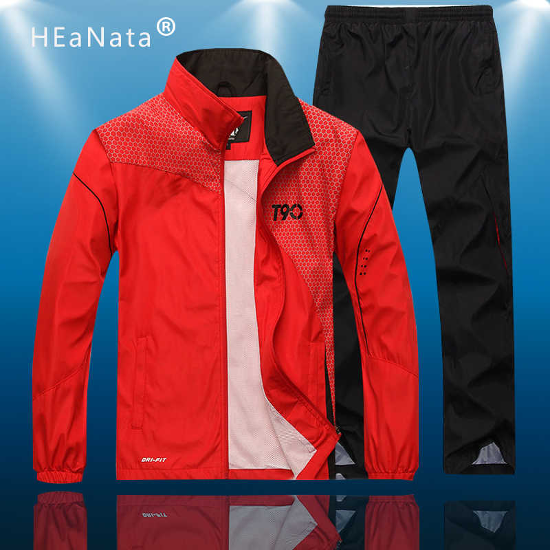 Sport Pak Mannen Losse Sport Past Losse Trainingspakken Heren Fitness Running Suits Set Warm Jogging Trainingspak Team Kleding