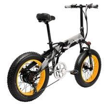 LANKELEISI 20x4.0 snow fat bike tire 48V 1000W bicicletta elettrica pieghevole con batteria 14.5AH L G